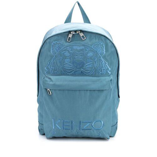 Kenzo Rucksack mit Logo-Stickerei - Blau Female regular