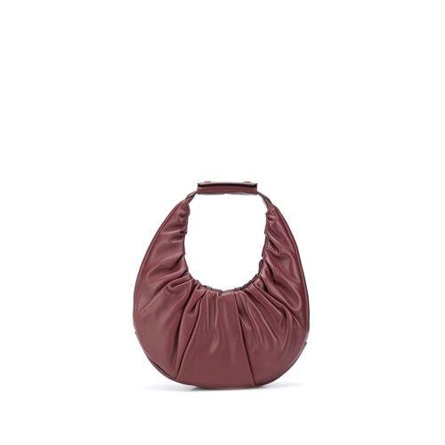 STAUD Weiche 'Moon' Handtasche - Rot Male regular