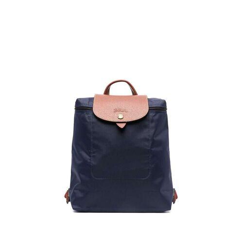 Longchamp 'Le Pliage' Rucksack - Blau Male regular