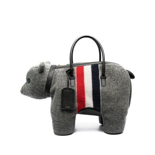 Thom Browne Handtasche mit Hundeform - Grau Female regular