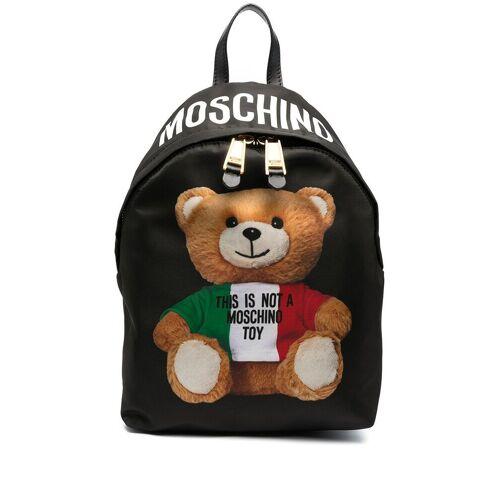 Moschino Rucksack mit Teddy-Motiv - Schwarz Male regular
