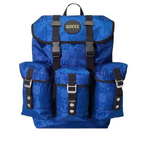 Gucci Gucci Off The Grid Rucksack mit GG - Blau Female regular