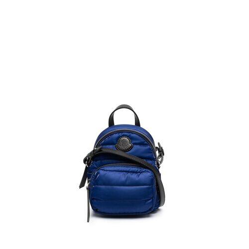Moncler Rucksack mit Logo-Patch - Blau Male regular