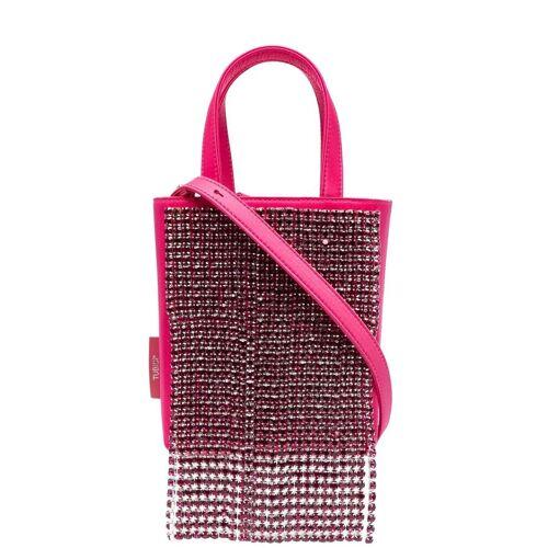 tubici Shopper mit Kristallfransen - Rosa Male regular
