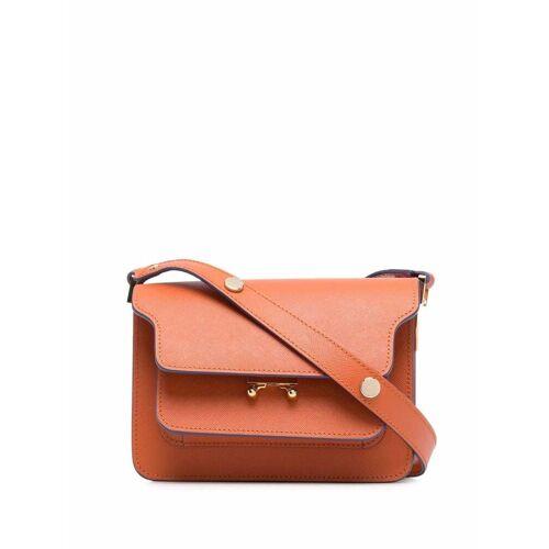 Marni Mini-Tasche mit Clipverschluss - Orange Female regular