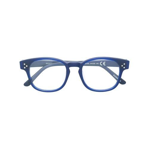Epos 'Avenue' Brille - Blau Unisex regular