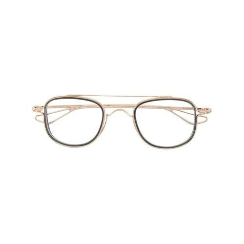 Dita Eyewear Brille mit Doppelsteg - Gold Male regular