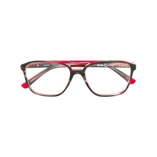 Etnia Barcelona 'CHICO' Brille - Rot Male regular