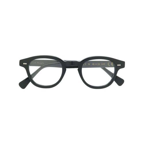 Epos Runde Brille - Schwarz Male regular