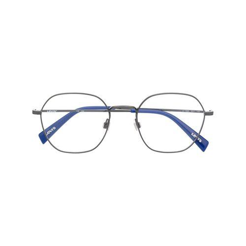 Levi's Brille mit sechseckigem Gestell - Grau Male regular