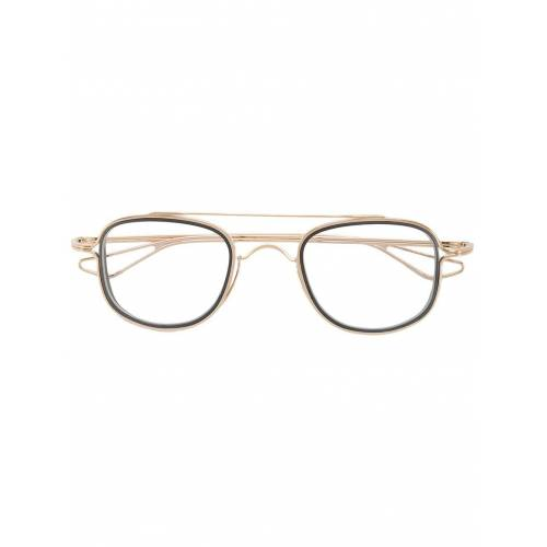 Dita Eyewear Brille mit Doppelsteg - Gold Female regular