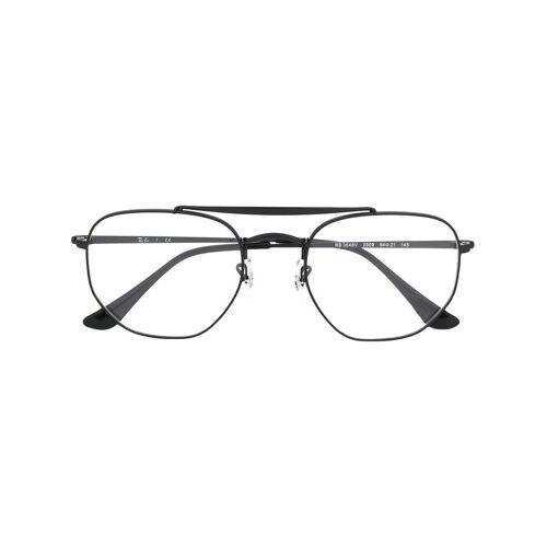 Ray-Ban Brille mit Doppelsteg - Schwarz Male regular
