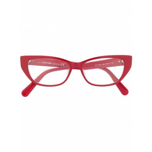 Roberto Cavalli Cat-Eye-Brille - Rot Male regular