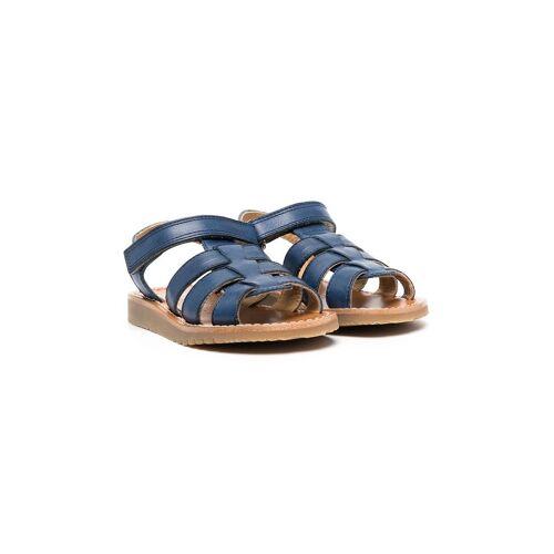 Gallucci Kids Flache Sandalen - Blau Unisex regular