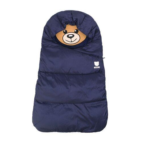 Moschino Kids Schlafsack mit Teddy - Blau Female regular