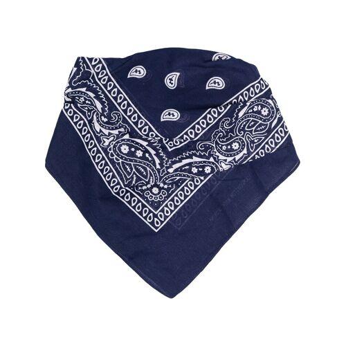 DUOltd Mundschutz mit Bandana-Print - Blau Female regular