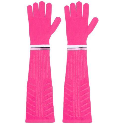 Prada Handschuhe mit Logo - Rosa Unisex regular