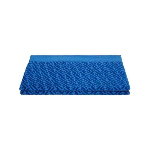 Fendi 'FF' Strandtuch - Blau Male regular