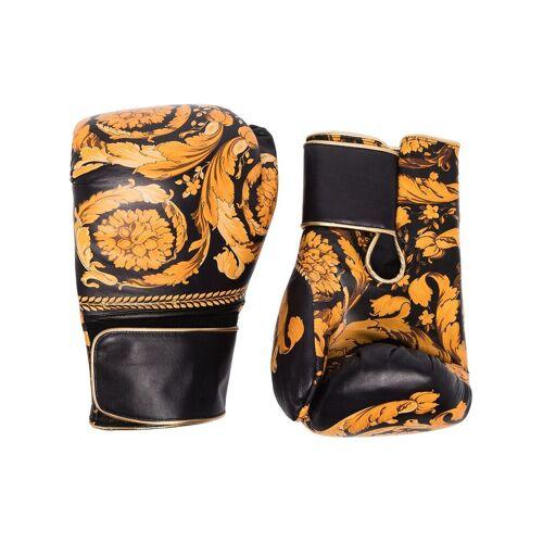 Versace Handschuhe mit Print - Z7011 BLACK GOLD Female regular
