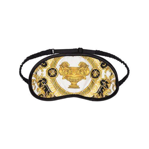 Versace Schlafmaske mit Barock-Print - Schwarz Male regular