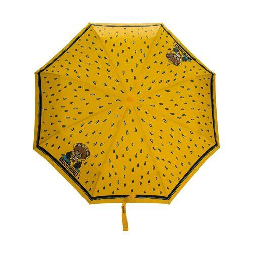 Moschino Regenschirm mit Teddy - Gelb Male regular