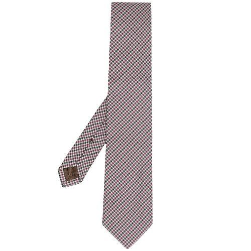 Church's Krawatte mit Hahnentrittmuster - Rot Female regular