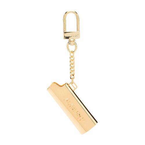 AMBUSH Schlüsselanhänger mit Feuerzeughülle - Gold Unisex regular