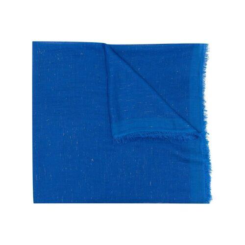 Faliero Sarti Strukturierter Schal - Blau Male regular
