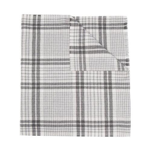Brunello Cucinelli plaid-check scarf - Grau Male regular
