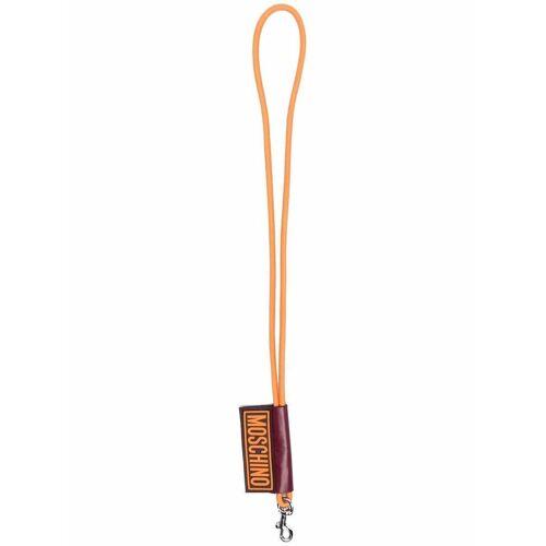 Moschino Schlüsselanhänger mit Halsband - Orange Female regular