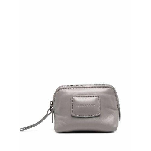 Longchamp Brioche Portemonnaie - Grau Male regular