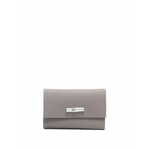 Longchamp Roseau Portemonnaie - Grau Male regular
