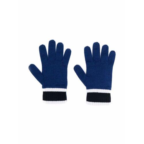Giorgio Armani Emporio Armani Kids Handschuhe mit Streifen - Blau Female regular