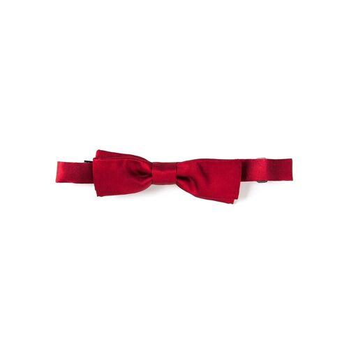Dolce & Gabbana Schmale Seidenfliege - Rot Male regular