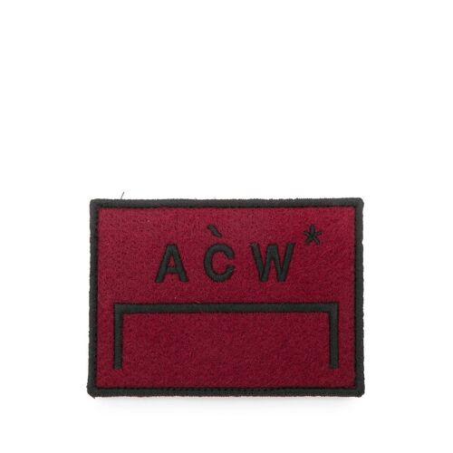 A-COLD-WALL* Patch mit Logo-Stickerei - Braun Female regular