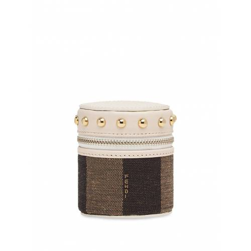 Fendi Mini 'Cofanetto' Box - Braun Male regular