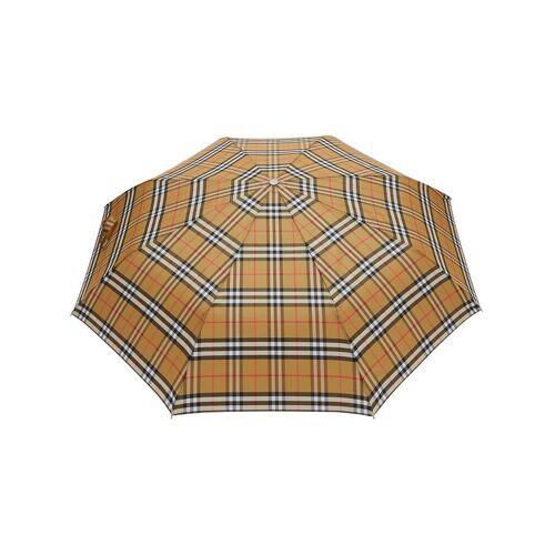 Burberry Regenschirm mit Vintage-Check - Braun Male regular