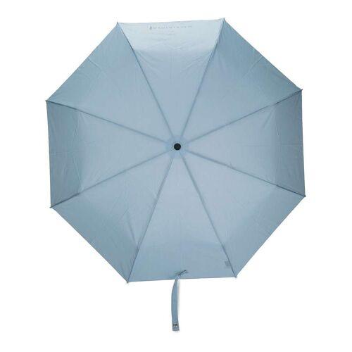Mackintosh Faltbarer Ayr Regenschirm - Blau Unisex regular