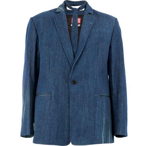 Diesel Red Tag Jeanssakko mit schmalem Revers - Blau Male regular