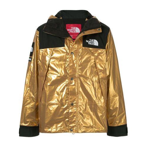 Supreme 'TNF' Metallic-Parka - Gold Male regular