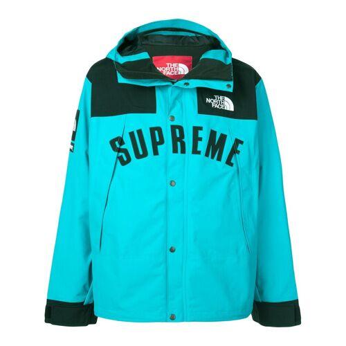 Supreme Regenjacke mit Logo - Blau Male regular