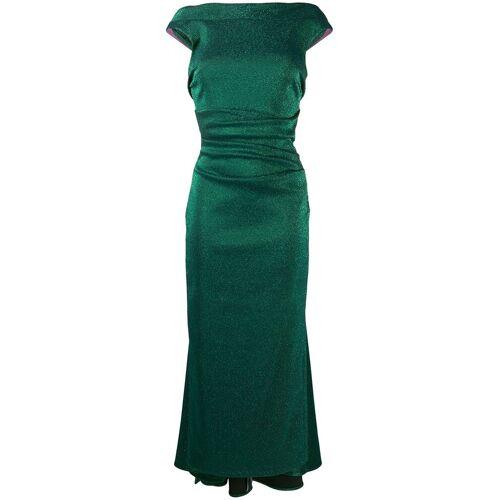 Talbot Runhof 'Tomislava' Abendkleid - Grün Male regular