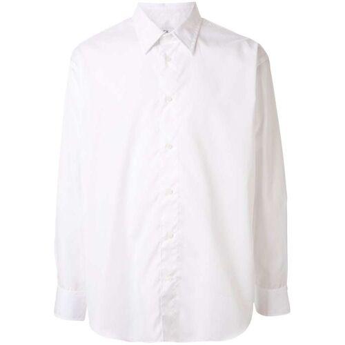 Calvin CK Calvin Klein Hemd mit Rattengesicht - Weiß Male regular