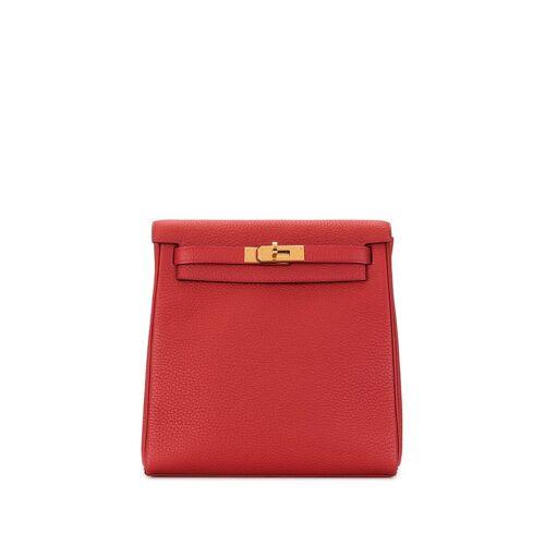 Hermès 'Kelly Ado PM' Rucksack - Rot Male regular