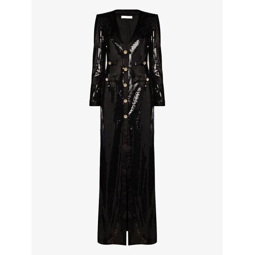 Alessandra Rich Abendkleid mit Kristallen - Schwarz Male regular