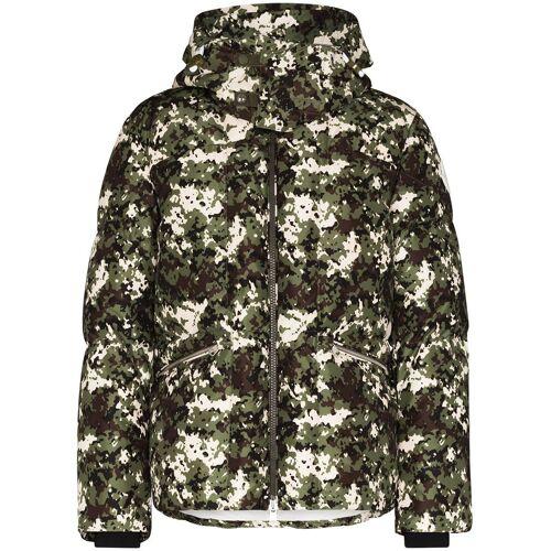 Moncler Daunenjacke mit Camouflage-Print - Weiß Male regular