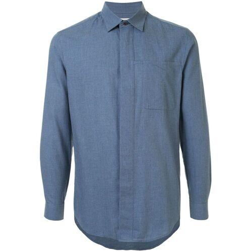 Cerruti 1881 Hemd mit lockerer Passform - Blau Male regular