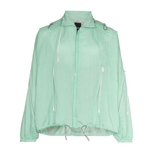 SAUL NASH Leichte Jacke mit Logo-Print - Grün Male regular