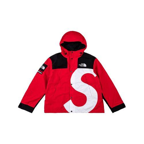 Supreme x The North Face Windbreaker mit S-Logo - Rot Male regular