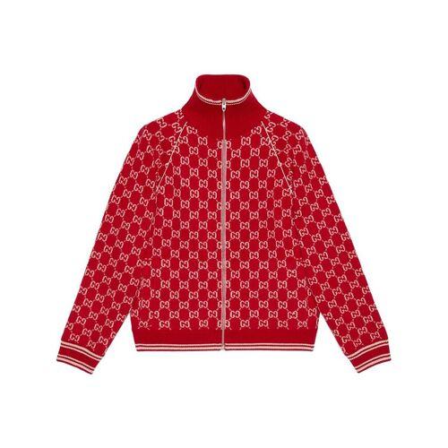 Gucci Bomberjacke aus GG Supreme - Rot Male regular